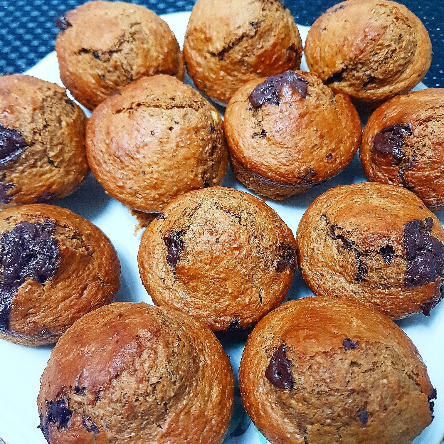 muffins caffè cioccolato